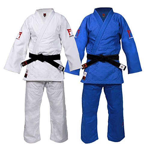(Fighting Films Superstar JUDOGI 750G Slimfit Blue 180cm)