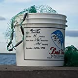 Bait Buster Mullet Cast Nets 1-1/4' Sq. Mesh (10 ft. Radius)