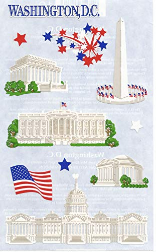 Mrs. Grossman's Washington D.C. Paper Whispers Stickers ()