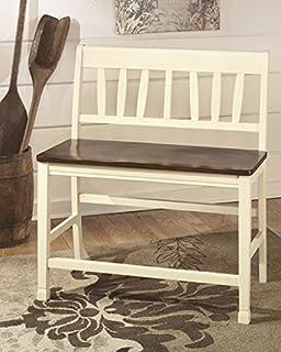 Ashley Furniture Signature Design Whitesburg Double Barstool Set Counter Height Set of 2
