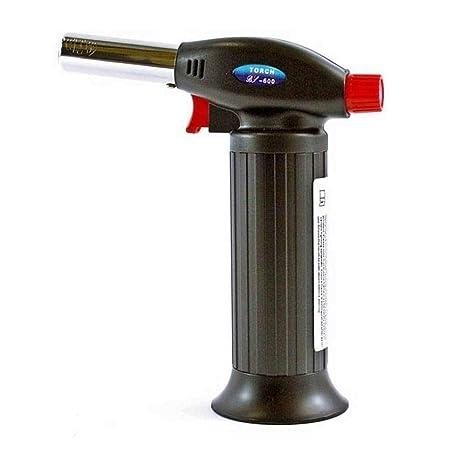 Mini soplete soldador quemador Reparación linterna a gas recargable