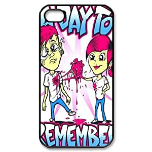 Customize Famous Rock Band A Day To Remember Back Case for iphone4 4S JN4S-1712