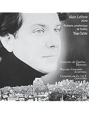 Concerto de Québec; Warsaw Concerto; Concerto in F / Concerto de Québec; Concerto de Varsovie; Concerto en fa