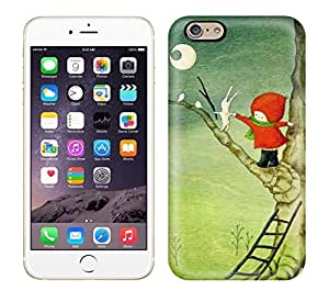 Durable Defender Case For Iphone 6 Tpu Cover(Knit Capt Girl Series)