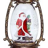 Evelyne GMT-10315-M Santa Claus Christmas Snow