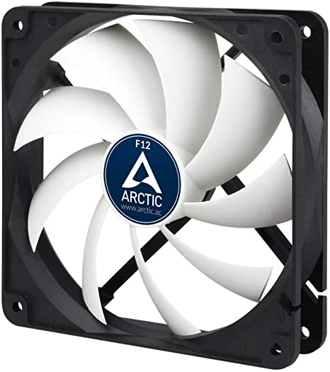 ARCTIC F12 PRO 120mm Fluid Dynamic Bearing Low Noise Case Fan AFACO-12P00-GBA01