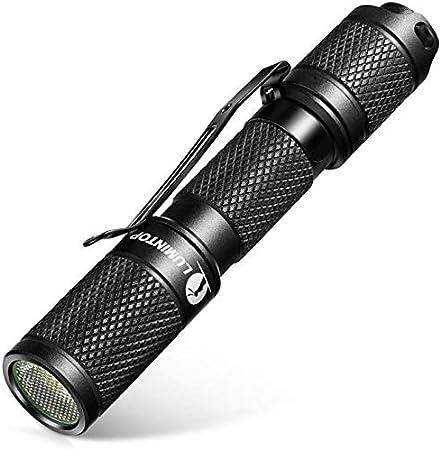 petite lampe de poche Torche Super Bright-Lumintop outil AA DEL torche panda blanc,