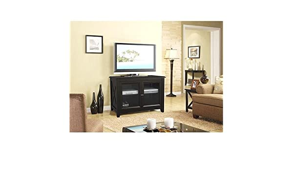 Whalen High Tv Stand For Tvs Up To 50 Rich Espresso Wood Finish