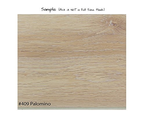"SAMPLE | ECONOMICAL SOLUTIONS Infinite Ware Vinyl Plank Flooring EVP - 5.75"" x 5.5mm Thick, 12 mil Ware Layer – 10 Colors, DIY Installation (E - Palomino)"