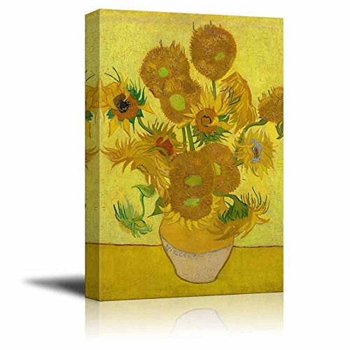 Sunflower  Canvas Prints Wrapped Gallery Wall Art | Stretched and