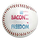 Beer Bacon Guns And Freedom Size 9 Safety Soft Baseballs Bullet Ball Training Ball White