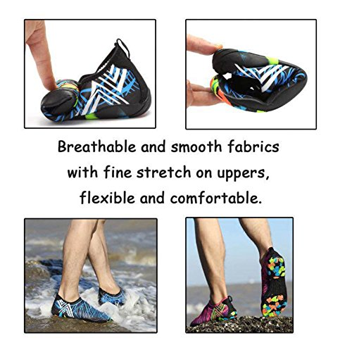 Walking Dry Sports For Beach Barefoot Park Yoga Soles Shoes Holes Women Kids � Boating 14 Swim T Men Driving Garden CIOR black With Aqua Water Quick Lake Camouflage Drainage 0qaXT