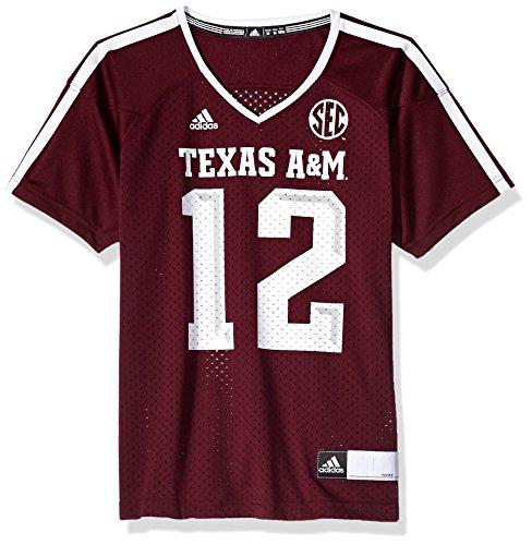 NCAA Texas A&M Aggies Adult Women Women's Football Jersey, XX-Large, Maroon