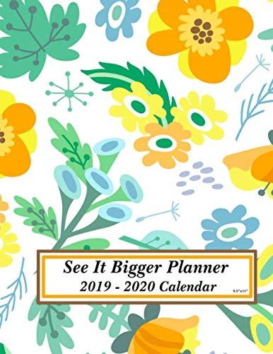 See It Bigger Planner 2019 - 2020 Calendar 8.5