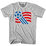USA World Cup T-shirt, Grey Heather, Adult Large