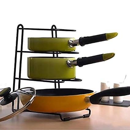 Soporte multifunción para sartenes, cacerolas, accesorios de ...