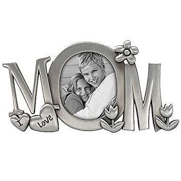 Amazoncom I Love Mom Special Metallic Frame By Malden 3x3 Frames