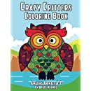 Crazy Critters Coloring Book: Amazing Animals A-Z