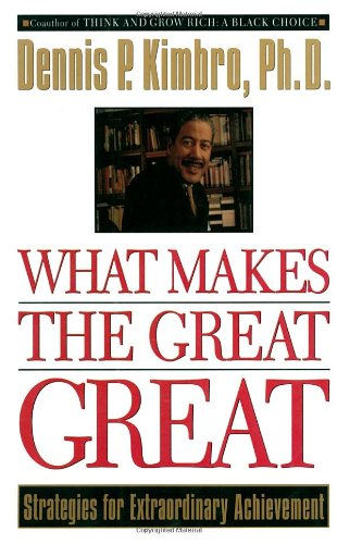 Search : What Makes the Great Great: Strategies for Extraordinary Achievement