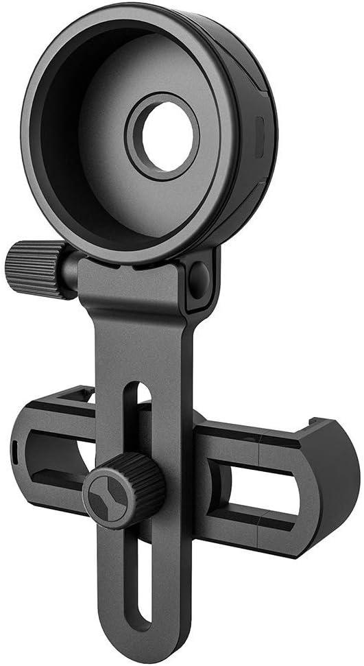 soporte de clip compatible con prism/áticos monoculares Adaptador de c/ámara para telescopio adaptador de tel/éfono m/óvil