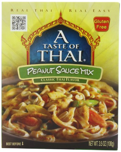 - A Taste of Thai Peanut Sauce Mix, 3.5-Ounce Packets (Pack of 12)