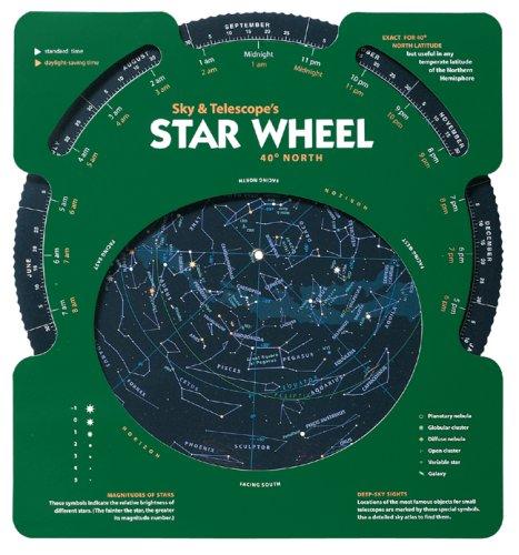 Sky & Telescope's Star Wheel 40 North