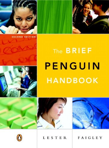 Brief Penguin Handbook, The (with Essential Study Card for Grammar and Documentation) (2nd Edition)