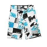 Fitness Sports Big Size Pants Men's Five Points Peach Skin Surfing Fast Dry Beach Pants Shorts Men 02 34