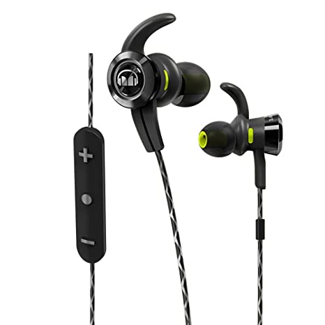 Monster iSport Victory - Auriculares Deportivos Tipo In-Ear con Bluetooth, Color Negro