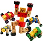 My First Transformers Wooden Transfor...