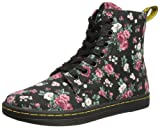 Dr. Martens Women's Hackney 7 Eye Boot Boot,Black Vintage Rose,3 UK/Women's 5 M US