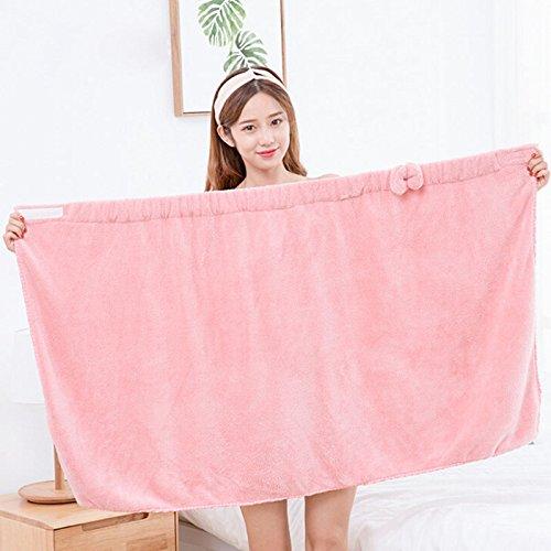 WDDH Women's Spa Bath Cloth Towel Wrap Bath Wrap Terry For Bathroom 27''x 55''