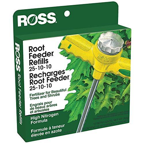 - Ross 100047080 039044136109 Tree & Shrubs Fertilizer Refills for Root Feeder, 25-10-10 (Ideal, 12