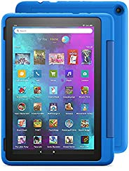 """Introducing Fire HD 10 Kids Pro tablet, 10.1"""", 1080p Full HD, ages 6–12, 32 GB, Sky"""