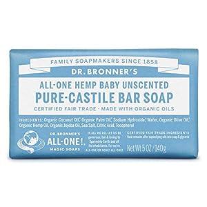 Dr. Bronner's Mild Aloe Baby Soap Bar Made w...