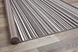 Rugshop Contemporary Modern Stripes Area Rug 5' x