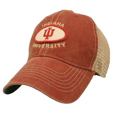 Indiana Hoosiers Adjustable Truckerスタイル帽子/キャップ   B01JSGHDXI