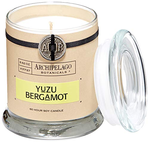 Archipelago Glass Jar Candle, Yuzu Bergamot, 8.62 ()