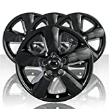 Set of Four 20' Gloss Black ABS Wheel Skin Covers for 2013-2015 Dodge RAM 1500