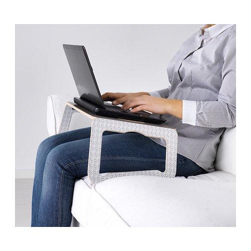 IKEA BRADA - Soporte para ordenador portátil, blanco, beige: Amazon.es: Electrónica