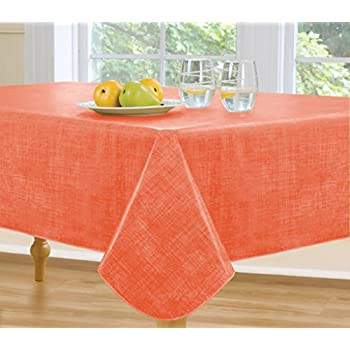 Amazon Com Monterey Flannel Backed Vinyl Tablecloth