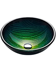 Kraus GV-391-19mm Nei Glass Vessel Bathroom Sink