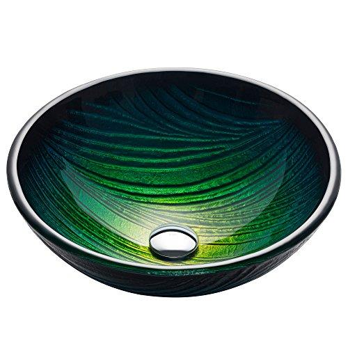 Kraus Nei Glass Vessel Bathroom Sink -