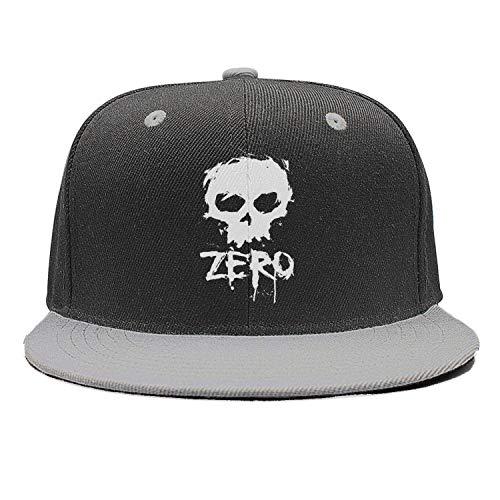 Unisex Casual Baseball Caps Zero-Skateboards-Logo- Hiphop Adjustable Sun Hats