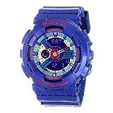 G-Shock BA-112-2ACR BA-110 Baby-G Blue Series Women's Stylish Watch - Blue/Purple / Small