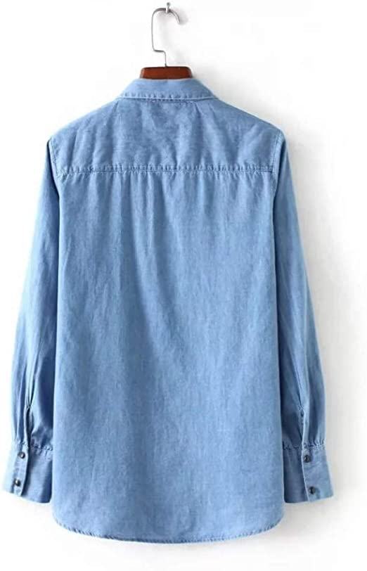 Cnsdy Camisas para Mujeres, Corbatas con Escote Camisas de ...