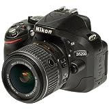 Nikon D5200 AF-S DX 18-55mm f/3.5-5.6 VR II Kit, Black