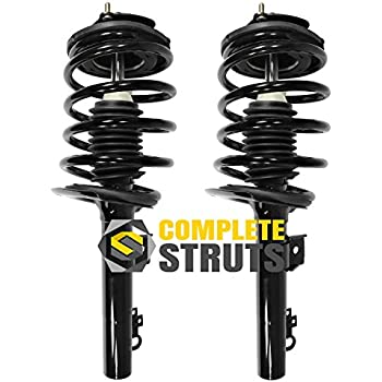 Suspension Kit compatible with Lincoln MKS 09-11 Taurus 10-11 Set Of 4 Rear Right Side and Left Side With Shock Absorber and Strut Assembly and Sway Bar Link