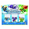 Skylanders Spyro Adventure Triple Character Pack Whirlwind Double Trouble Drill Sergeant from Activision