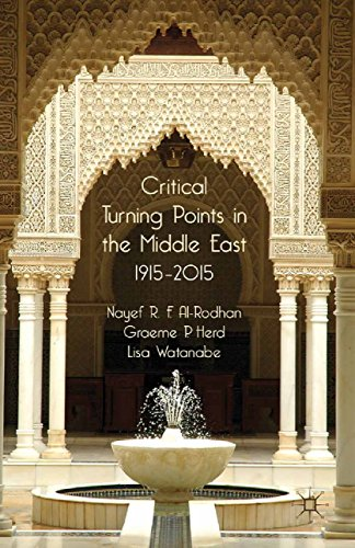 Download Critical Turning Points in the Middle East: 1915 – 2015 Pdf